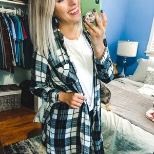 Old Navy Flannel Tunic Dress Small